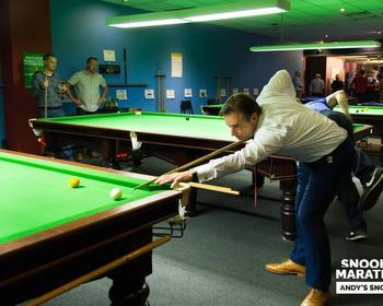 Andy's Snooker - Andy's snooker in beeld